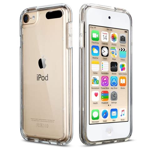 For Apple iPod Touch 6 5th Crystal CLEAR SLIM Shockproof