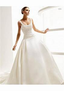 wedding dress necklines for your perfect day sang maestro With scoop neckline wedding dress