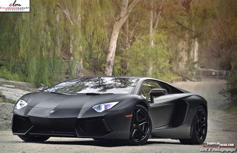 For Sale Matte Black Lamborghini Aventador Lp7004