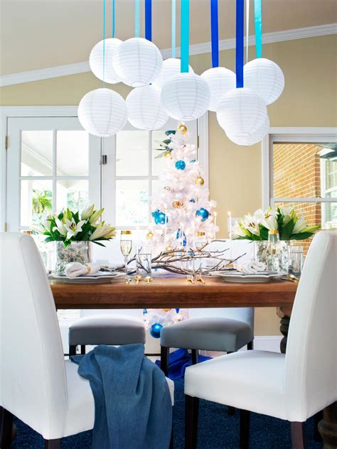 Haute Hanukkah Decorating Ideas  Hgtv. Blue Chairs For Living Room. Round Living Room Table. Paint Scheme Ideas For Living Rooms. Light Blue Rug Living Room. Interior Decorating Living Room Furniture Placement. Grey Red Living Room Ideas. Best Curtains For Living Room. Living Room Armchair