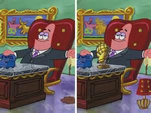 Spongebob Spot the Difference