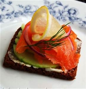 Smoked SalmonCream Che ese and Fresh Cucumber Sandwich ...