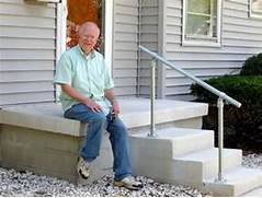 Outdoor Metal Handrails For Stairs by 5 DIY Metal Stair Railing Examples