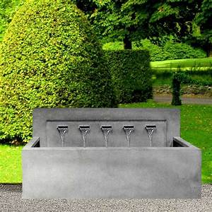 Wasserspiel Für Terrasse : springbrunnen garten modern ~ Michelbontemps.com Haus und Dekorationen