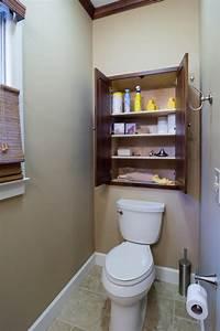 Small, Space, Bathroom, Storage, Ideas