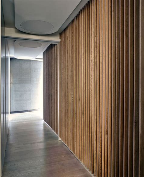 dynamic loft warehouse style apartment corridor design