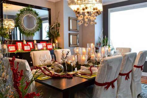 decoracion de navidad  la mesa de nuestro salon