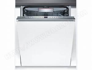 Lave Vaisselle Integrable Bosch : bosch smv69p20eu lave vaisselle tout integrable 60 cm ~ Melissatoandfro.com Idées de Décoration