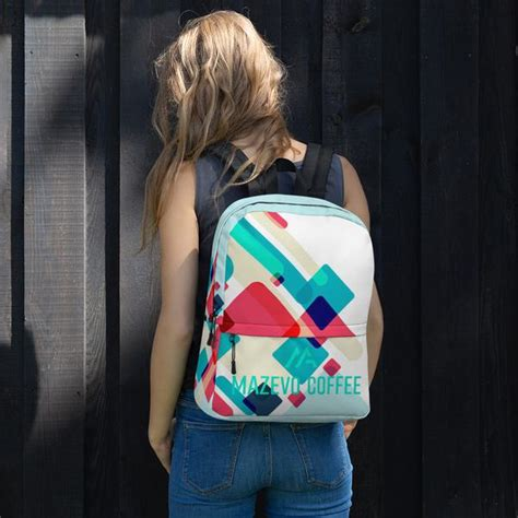 The idea for a modern room scheduling system started with mazévo founder dean evans. Mazevo Coffee Womens Backpack