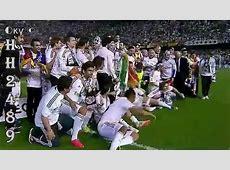 REAL MADRID Campeón Copa del Rey 2014 → Barcelona vs Real