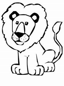 Lion Head Clipart Black And White | Clipart Panda - Free ...