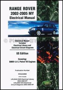 Range Rover Electrical Manual 2002 2003 2004 2005 Wiring Diagrams Us Edition