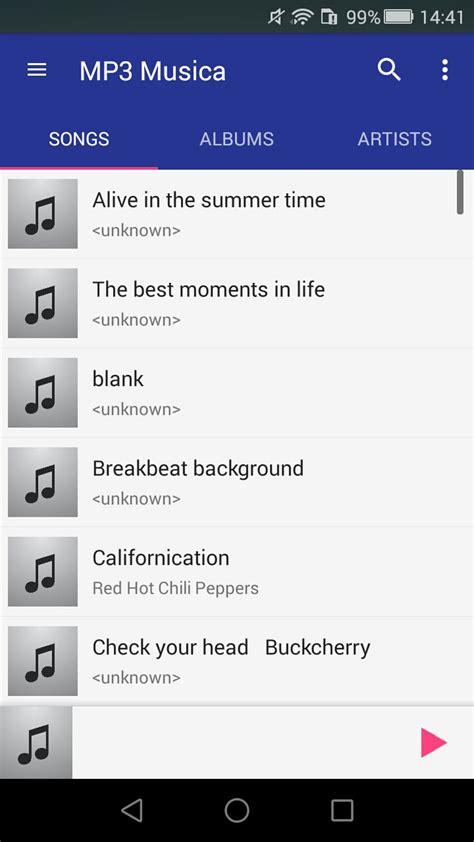 Nota krafta player é um leitor de áudio e vídeo e não pode baixar musicas. Descargar-Musica+Gratis-MP3 1.0 - Descargar para Android ...