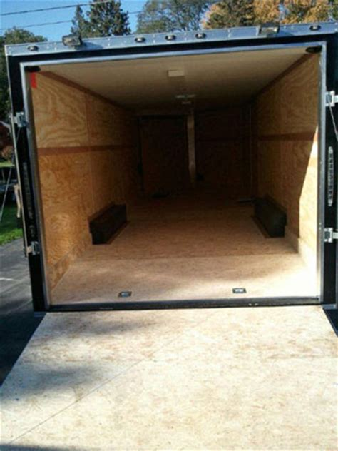 Provides excellent traction when loading and unloading your snowmobile; Trailer mats - custom cut