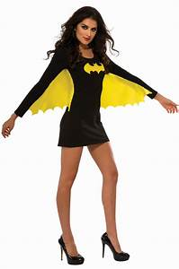Batgirl Wing Dress Adult Costume - PureCostumes.com