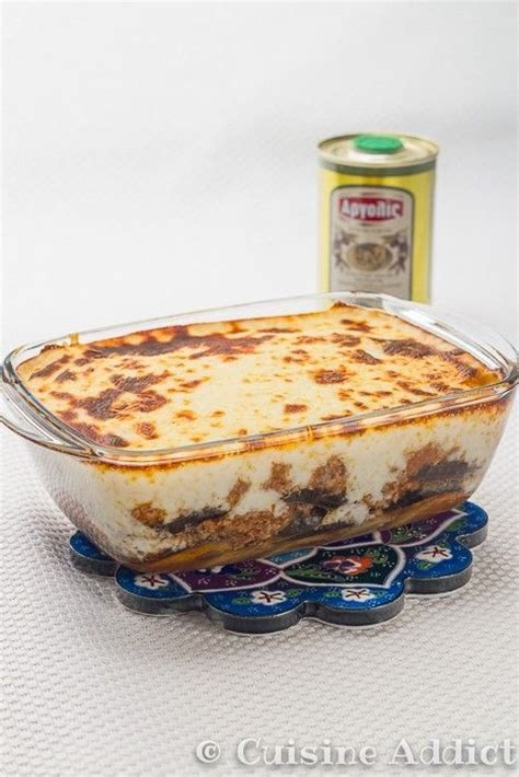 cuisine grecque moussaka la vraie moussaka grecque cuisine addict