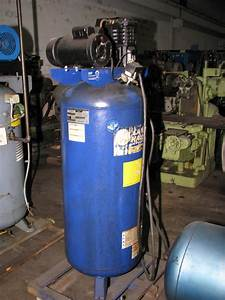 Campbell Hausfield 6 Hp 1 Phase Vertical Air Compressor
