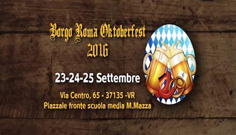 libreria il borgo roma dal 23 al 25 settembre in citt 224 arriva il borgo roma