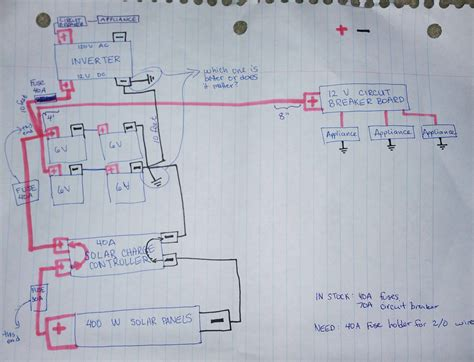 Vehicle Inverter Wiring Diagram by Am I Supposed To Ground The Inverter Or The Battery Or