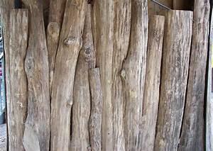 Garten Trennwand Holz : sichtschutz aus holz naturholz schwartenbretter ~ Sanjose-hotels-ca.com Haus und Dekorationen