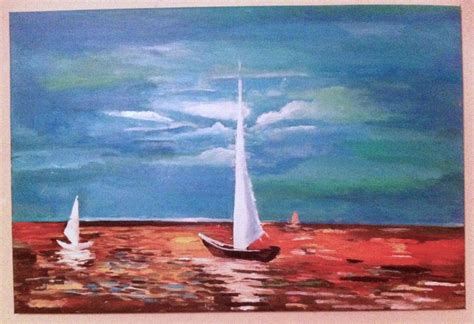 Sailboat Color by Sailboat Painting Oceans Sailboat Painting