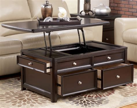 ashley carlyle lift top coffee table carlyle rectangular lift top cocktail table