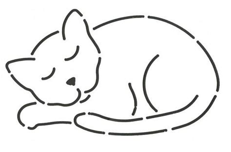 Cat Template 1000 Ideas About Applique Templates Free On