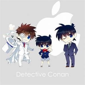 Detective Conan chibi's (Kaito Kid and Shinichi ...