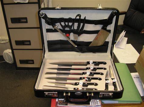 prima profiline chef knife set  leather combination case