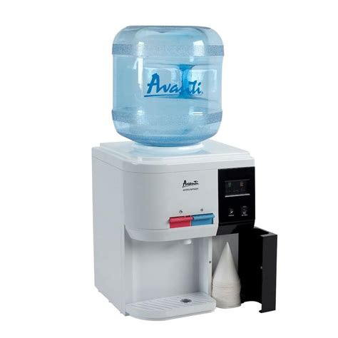 costco kitchen faucets avanti table top thermoelectric water dispenser filtration