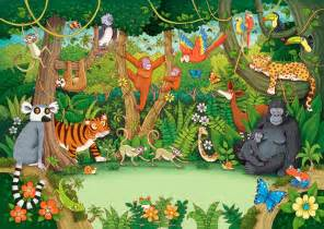 Wild Jungle Animals