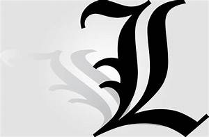 It's simple, L - Lawliet logo.. Inpiration from Death note ...