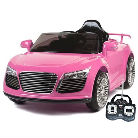 pink kid car buy girls pink electric battery powered ride on toys
