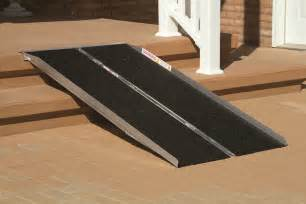 "30"" Wide Lightweight Folding Ramps, 2' to 8'"
