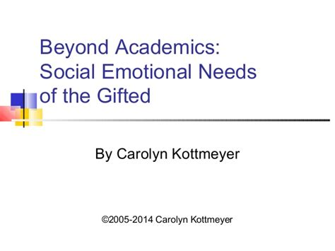 academics social emotional    gifted