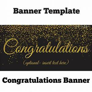 examples of congratulations banners pictures to pin on With congratulations sign template