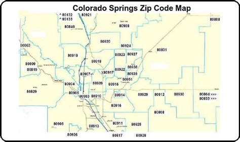 colorado springs zip code map colorado springs map with zip codes printable calendar 2017