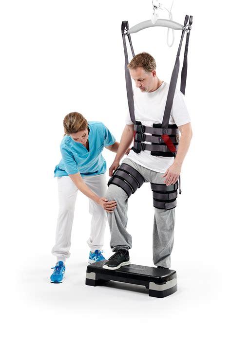 gait trainer walking sling  leg cuffs  early