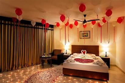 Decoration Romantic Valentine Bedroom Honeymoon Night Indian