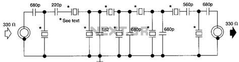 Audio Filter Circuit Page Circuits Next