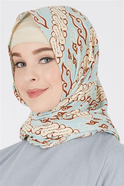 sell megamendung pashmina hijau pashmina hijabenkacom