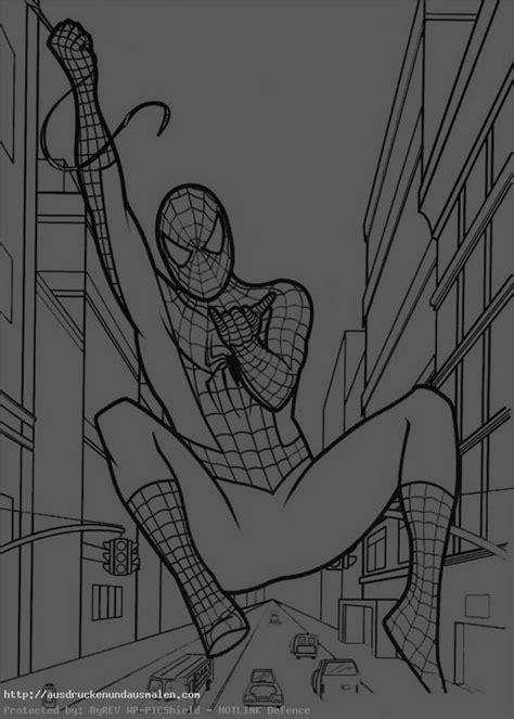 bilder zum ausmalen spiderman  bilder zum ausmalen