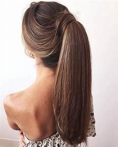 Coiffure Queue De Cheval : coiffure queue de cheval 30 id es pour une jolie coiffure ~ Melissatoandfro.com Idées de Décoration