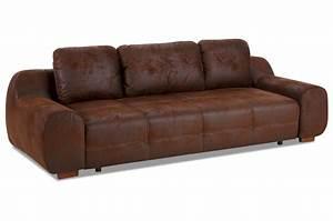 Sofa 3 2 1 Mit Schlaffunktion : 3er sofa mit schlaffunktion braun sofas zum halben preis ~ Indierocktalk.com Haus und Dekorationen