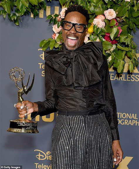 Billy Porter Shuts Down Rumors Side Eye Given During