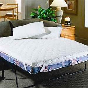 Sofa bed mattress topper in mattresses for Full size sofa bed mattress pad