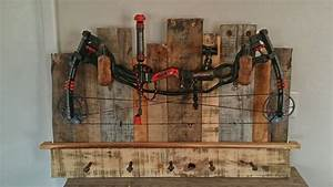 Rustic Bow Rack - by apehl @ LumberJocks com ~ woodworking