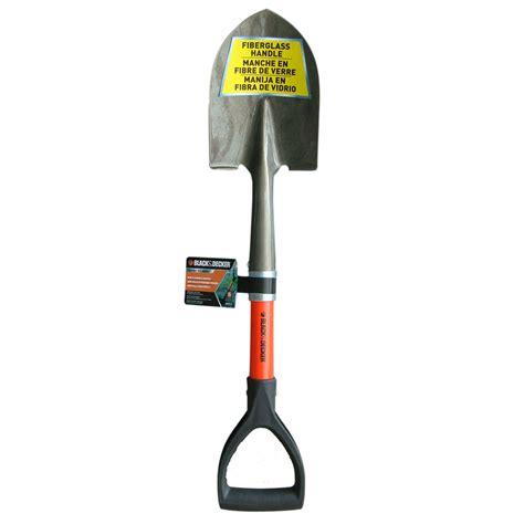 blackdecker bd mini  point shovel   handle