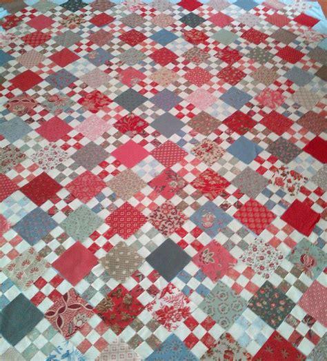 nine patch quilt cape pincushion french nine patch quilt progress