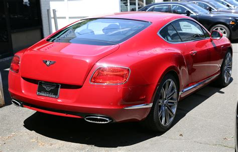 red bentley bentley continental coupe red